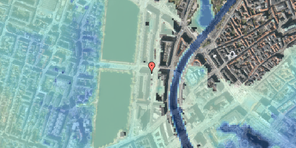 Stomflod og havvand på Nyropsgade 30, 6. th, 1602 København V