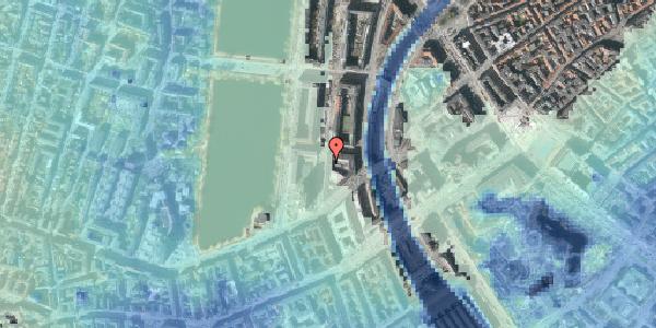 Stomflod og havvand på Nyropsgade 47, 2. , 1602 København V