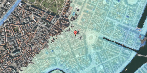Stomflod og havvand på Ny Østergade 9, st. tv, 1101 København K
