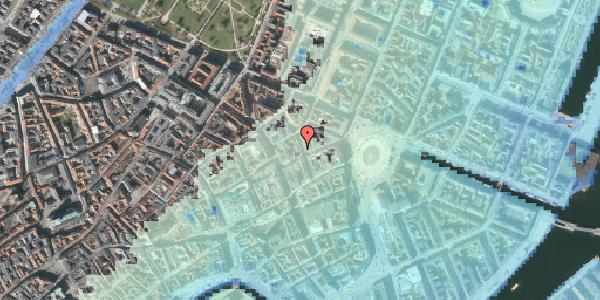 Stomflod og havvand på Ny Østergade 9, 2. , 1101 København K