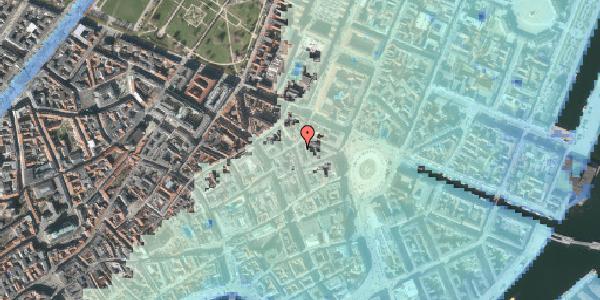 Stomflod og havvand på Ny Østergade 12, kl. , 1101 København K