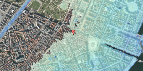 Stomflod og havvand på Ny Østergade 15, 2. , 1101 København K