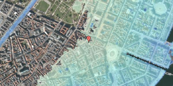 Stomflod og havvand på Ny Østergade 15, 3. , 1101 København K