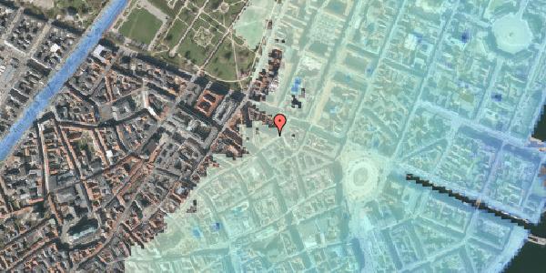 Stomflod og havvand på Ny Østergade 19, kl. , 1101 København K