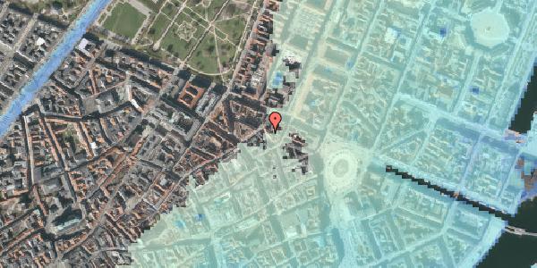 Stomflod og havvand på Ny Østergade 20, 3. 4, 1101 København K