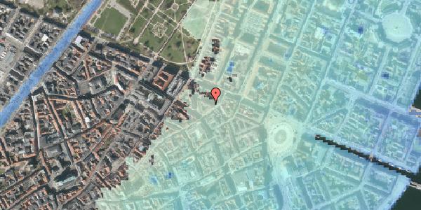 Stomflod og havvand på Ny Østergade 21, kl. 2, 1101 København K