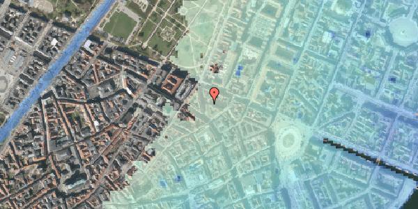 Stomflod og havvand på Ny Østergade 25, kl. , 1101 København K