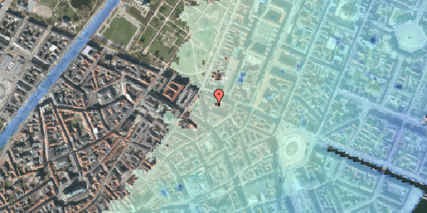 Stomflod og havvand på Ny Østergade 32, 2. th, 1101 København K