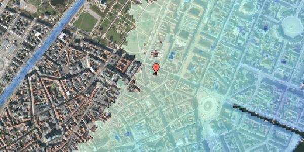 Stomflod og havvand på Ny Østergade 32, 2. tv, 1101 København K