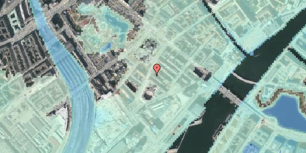 Stomflod og havvand på Otto Mønsteds Gade 1, 5. 515, 1571 København V