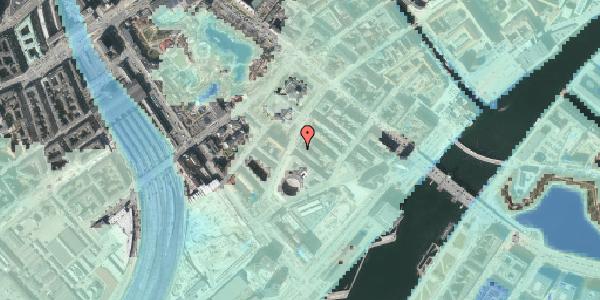 Stomflod og havvand på Otto Mønsteds Gade 1, 5. 517, 1571 København V