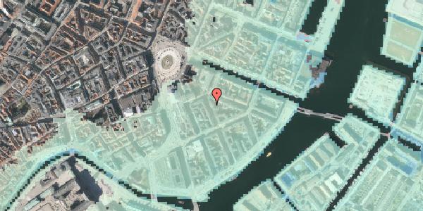 Stomflod og havvand på Peder Skrams Gade 3, 3. , 1054 København K