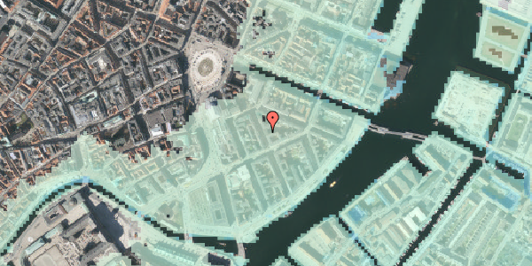 Stomflod og havvand på Peder Skrams Gade 7, 4. th, 1054 København K