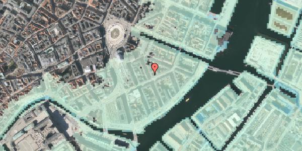 Stomflod og havvand på Peder Skrams Gade 11, st. th, 1054 København K