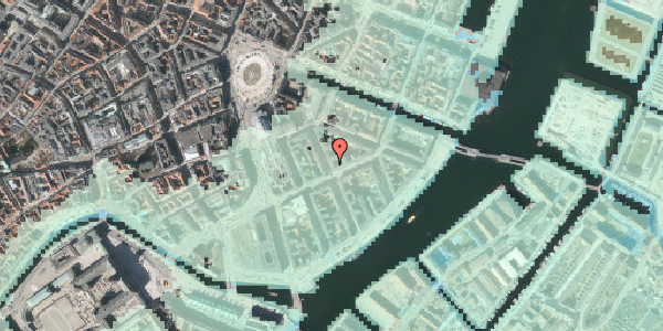 Stomflod og havvand på Peder Skrams Gade 11, 2. th, 1054 København K