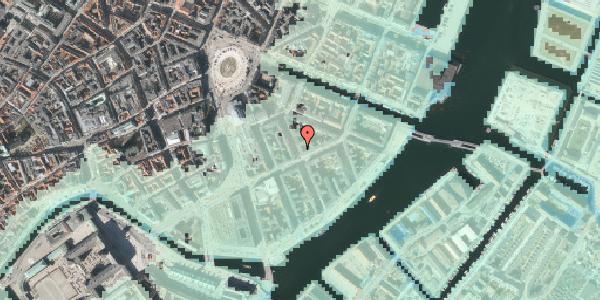 Stomflod og havvand på Peder Skrams Gade 11, 2. tv, 1054 København K