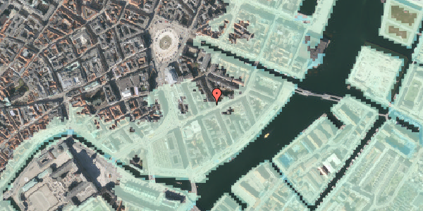 Stomflod og havvand på Peder Skrams Gade 12, 4. th, 1054 København K