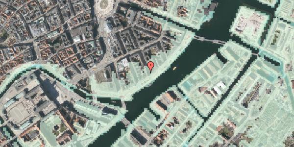 Stomflod og havvand på Peder Skrams Gade 28, 2. tv, 1054 København K
