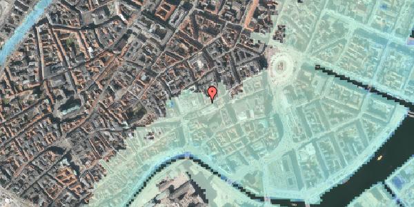 Stomflod og havvand på Pilestræde 2, 1. 101, 1112 København K
