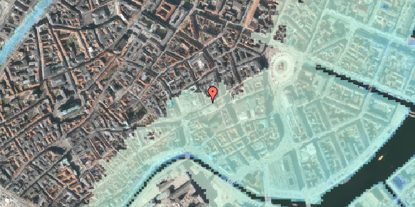 Stomflod og havvand på Pilestræde 2, 2. 201, 1112 København K