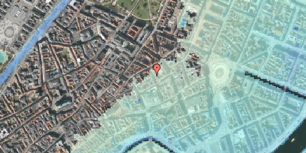 Stomflod og havvand på Pilestræde 27, st. , 1112 København K