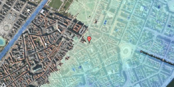 Stomflod og havvand på Pilestræde 40C, 2. tv, 1112 København K