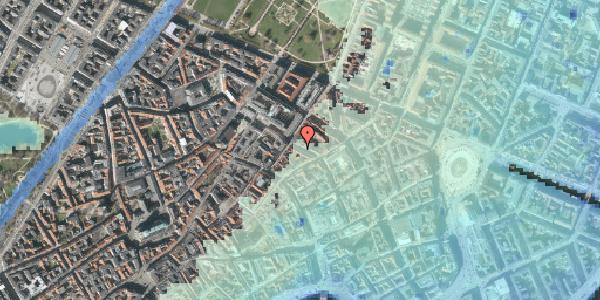 Stomflod og havvand på Pilestræde 43, 4. , 1112 København K