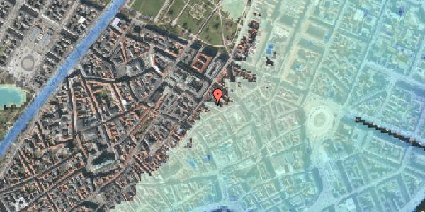 Stomflod og havvand på Pilestræde 48, kl. , 1112 København K