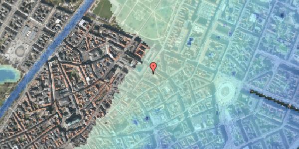 Stomflod og havvand på Pilestræde 52B, 3. tv, 1112 København K