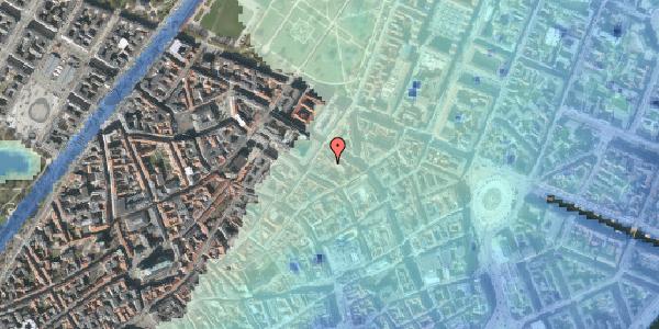 Stomflod og havvand på Pilestræde 52C, 2. mf, 1112 København K