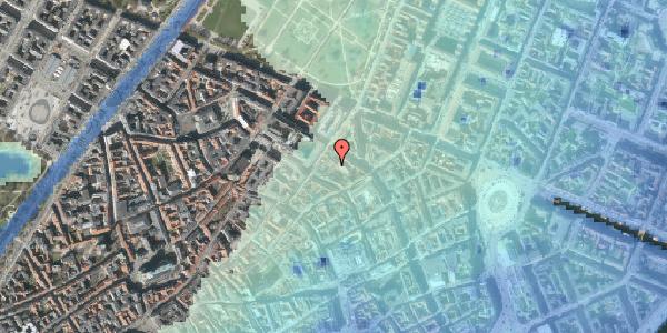 Stomflod og havvand på Pilestræde 52C, 3. tv, 1112 København K