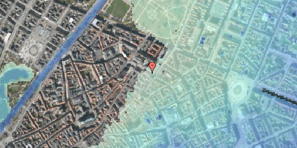 Stomflod og havvand på Pilestræde 53, 1112 København K