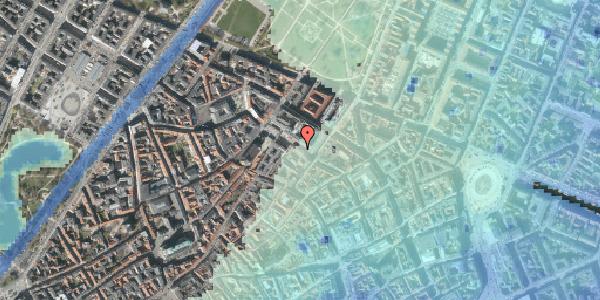 Stomflod og havvand på Pilestræde 55, 3. th, 1112 København K