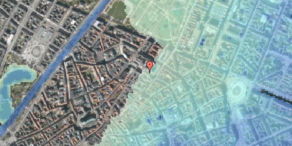 Stomflod og havvand på Pilestræde 57, 3. 1, 1112 København K