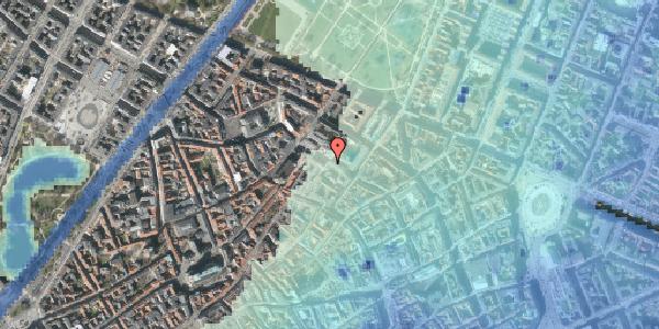 Stomflod og havvand på Pilestræde 61, 1112 København K