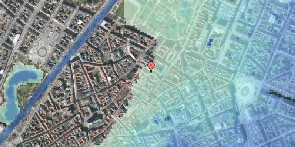 Stomflod og havvand på Pilestræde 63, 1112 København K