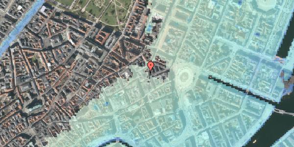 Stomflod og havvand på Pistolstræde 6, 2. , 1102 København K