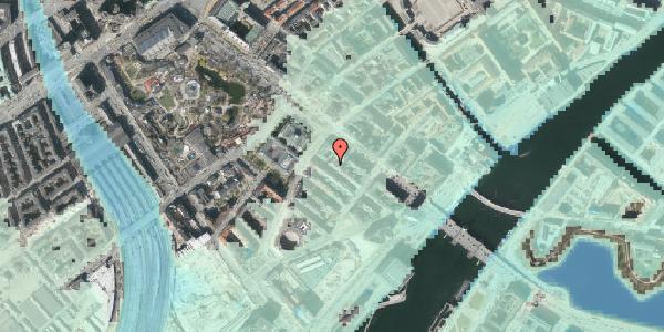 Stomflod og havvand på Puggaardsgade 3, 3. tv, 1573 København V