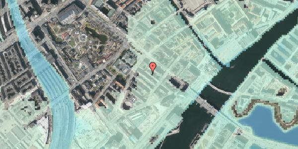 Stomflod og havvand på Puggaardsgade 5, 5. tv, 1573 København V