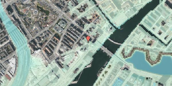 Stomflod og havvand på Puggaardsgade 17, kl. , 1573 København V