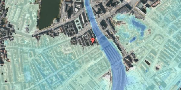 Stomflod og havvand på Reventlowsgade 12B, 1. , 1651 København V