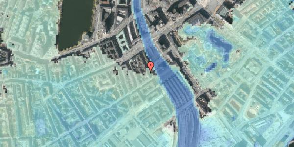 Stomflod og havvand på Reventlowsgade 12, 2. tv, 1651 København V