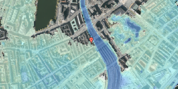Stomflod og havvand på Reventlowsgade 12, 4. th, 1651 København V