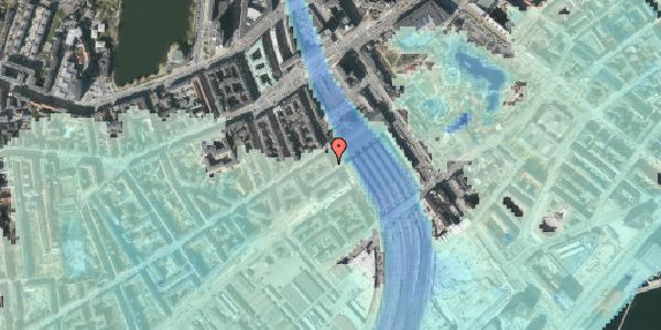Stomflod og havvand på Reventlowsgade 18, kl. tv, 1651 København V