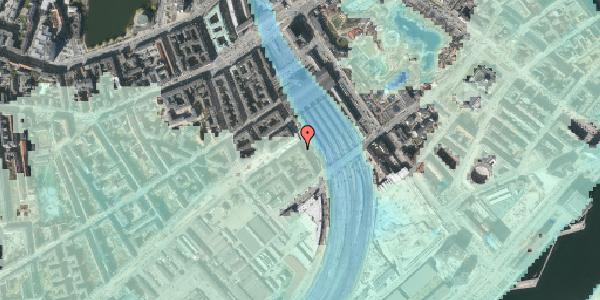 Stomflod og havvand på Reventlowsgade 24, kl. 2, 1651 København V