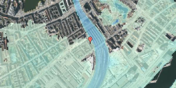 Stomflod og havvand på Reventlowsgade 26, kl. , 1651 København V