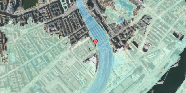 Stomflod og havvand på Reventlowsgade 30, 3. th, 1651 København V