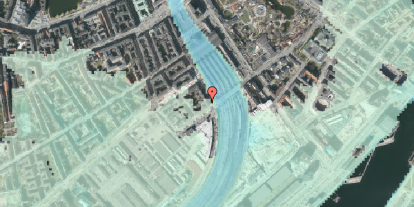 Stomflod og havvand på Reventlowsgade 32, 5. tv, 1651 København V