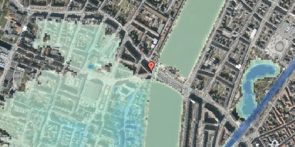 Stomflod og havvand på Rosenørns Allé 2, 4. tv, 1634 København V