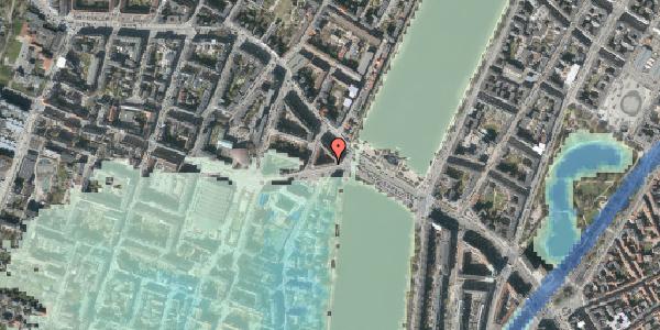 Stomflod og havvand på Rosenørns Allé 4, kl. 2, 1634 København V